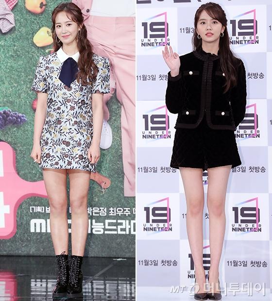 그룹 소녀시대 유리, 배우 김소현/사진=머니투데이 DB