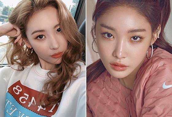 가수 선미, 청하/사진=선미 인스타그램, 보그
