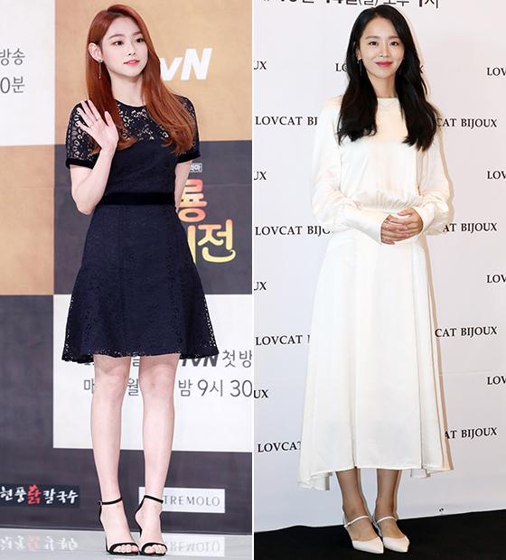 그룹 구구단 미나, 배우 신혜선/사진=머니투데이 DB