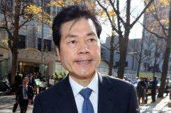 증선위 회의 참석 마친 김태한 삼바 사장