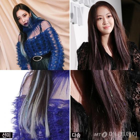 가수 선미, 다솜 /사진=선미 인스타그램, 머니투데이 DB