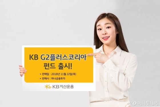 KB자산운용, 글로벌시장 선도하는 G2플러스코리아펀드 판매