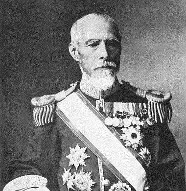 조선의 초대 일본공사인 하나부사 요시모토(花房義質·1841~1917)