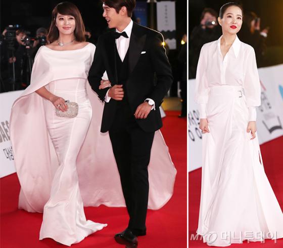 배우 김혜수, 박보영 /사진=김휘선 기자