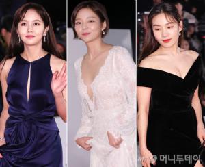 '청룡영화제' 드레스, 블랙·화이트 대세…과감한 패션 '눈길'