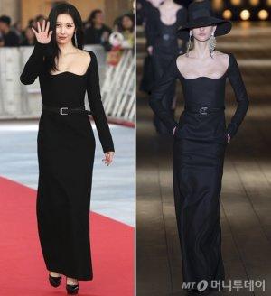 '2018 AAA' 선미, 과감한 노출 드레스…
