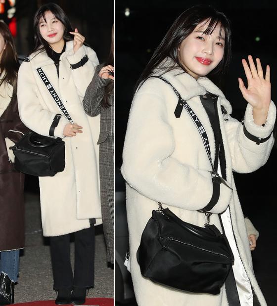 레드벨벳 조이, 깜찍한 시어링 패션…과즙미 '폭발'