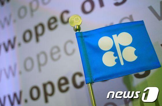 석유수출국기구(OPEC) 로고. © AFP=뉴스1