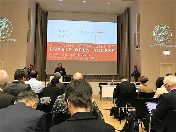 '제14회 베를린 오픈 액세스(Open Access, OA) 콘퍼런스' 현장 모습/사진=KISTI