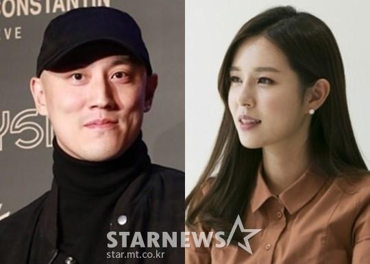 박서원 두산매거진 대표, 조수애 전 JTBC 아나운서 /사진=스타뉴스, JTBC