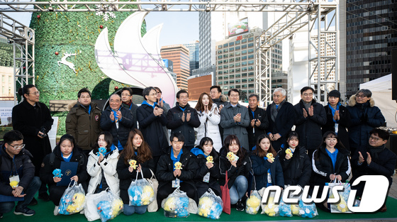 [사진]서울시, 제100회 전국체육대회 D-300 카운트다운