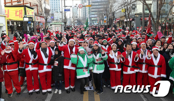 [사진]'산타런 출발합니다'