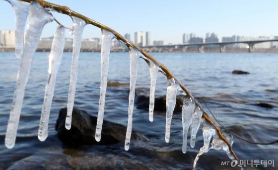 [사진]한강도 얼어붙은 날씨