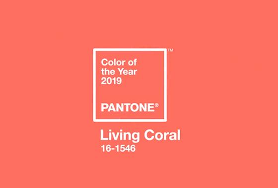 2019 올해의 컬러 '리빙 코랄'(Living Coral)/사진=팬톤(Pantone)