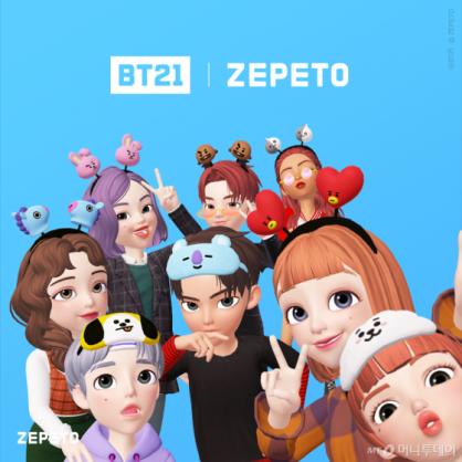 """라인프렌즈, 캐릭터 테마 'BT21 제페토'…""""100만명 사용중"""""""