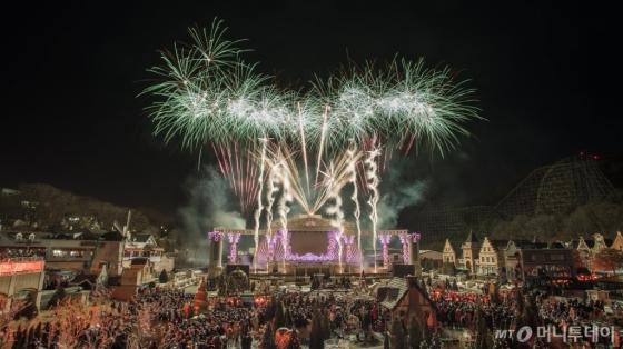 에버랜드 새해 카운트다운 페스티벌. /사진제공=에버랜드