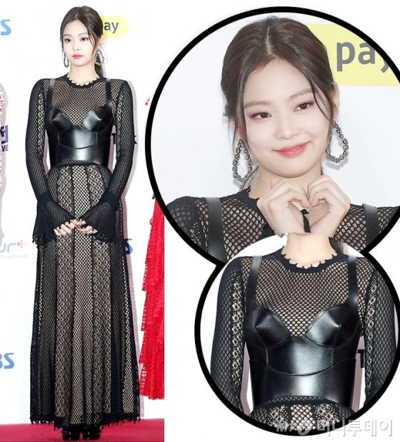 그룹 블랙핑크 제니/사진=김창현 기자