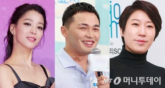 왼쪽부터 배우 한고은, 래퍼 마이크로닷, 방송인 김영희/사진=머니투데이DB