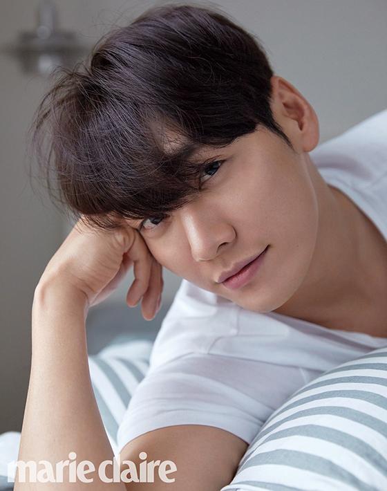 모델 겸 배우 김영광/사진제공=아베다, 마리끌레르