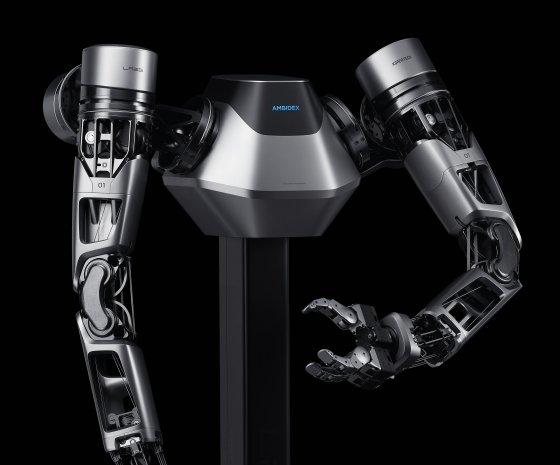 네이버가 'CES 2019'에서 선보이는 로봇 팔 '앰비덱스'.