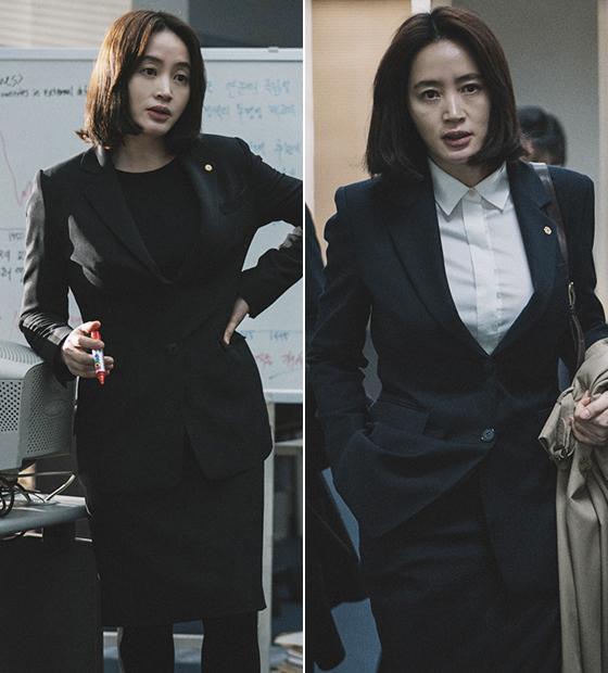 영화 '국가부도의 날' 속 김혜수./사진=CJ엔터테인먼트