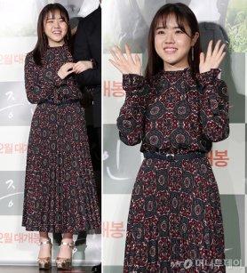 '증인' 김향기, 화려한 에스닉 원피스…성숙미 '뿜뿜'