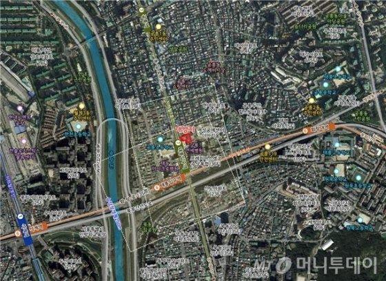 태릉입구역 역세권 청년주택 위치도. /사진제공=서울시