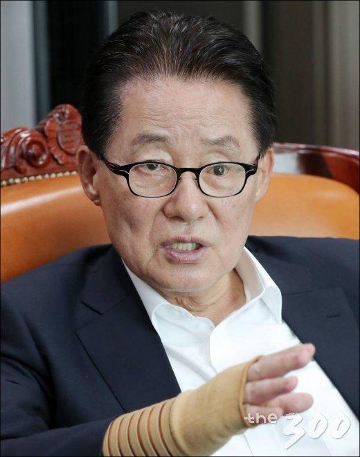 민주평화당 박지원 의원 인터뷰