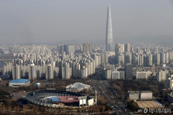 서울 송파구 일대 아파트 단지 전경. /사진제공=뉴스1