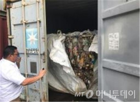 필리핀 민다나오섬 카가얀데 오로항 현장사진 /사진제공=환경부