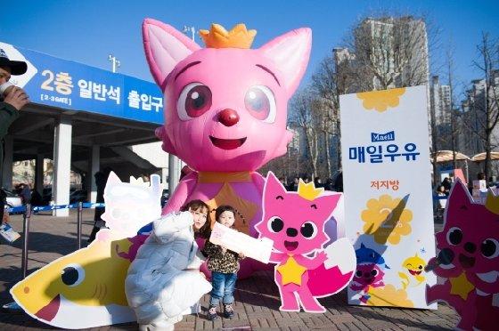 서울 삼성이 13일 매일우유 2%와 함께하는 브랜드데이를 개최한다. /사진=서울 삼성 제공<br> <br>