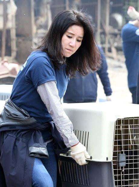 박소연 케어 대표./사진=동물권 단체 케어 페이스북