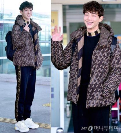 지수, 감각적인 공항 패션…귀여운 미소 '반전 매력'