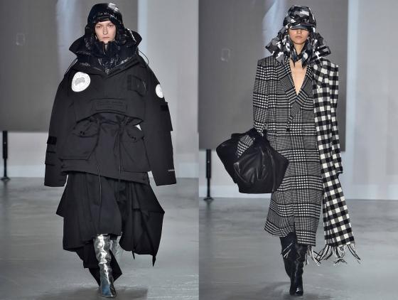 삼성물산 패션부문 '준지'가 18일 오후(현지시간) 프랑스 파리 전시관 '팔레 드 도쿄'에서 '합성'을 주제로 2019년 가을·겨울(F/W) 시즌 컬렉션을 공개했다./사진제공=삼성물산 패션부문