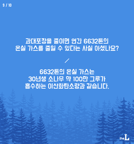 [카드뉴스] 포장 쓰레기