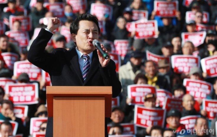 김진태, 자한당 당대표 출마 선언
