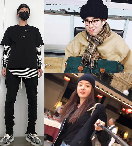 /사진=이승훈, 피오, 한선화 인스타그램