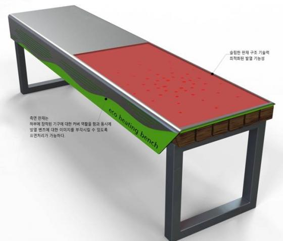 코리아텍, 산학공동 기술 개발로 나노온열벤치 선보여