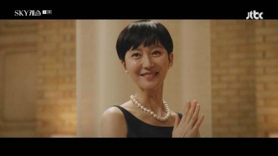 예서 엄마 한서진이자 곽미향. /사진= JTBC 'SKY 캐슬' 방송화면
