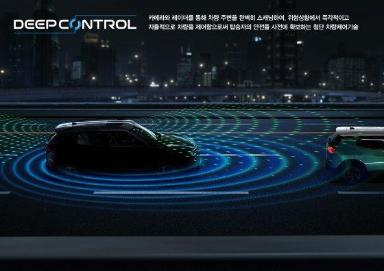 쌍용차가 신형 코란도에 적용할 '딥컨트롤' 차량제어기술/사진제공=쌍용차