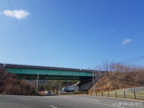 울산외곽순환도로 건설 추정지 /사진=조한송 기자