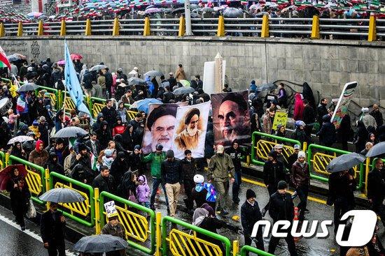이란혁명. © 로이터=뉴스1