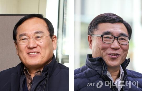 사진 왼쪽부터 이병권 센터장, 최승주 센터장/사진제공=한국기계연구원