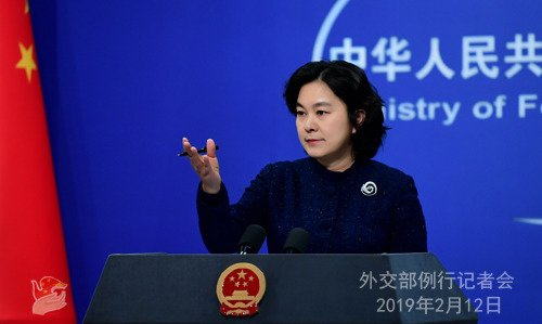 화춘잉 중국 외교부 대변인.(출처 = 중국 외교부) © 뉴스1