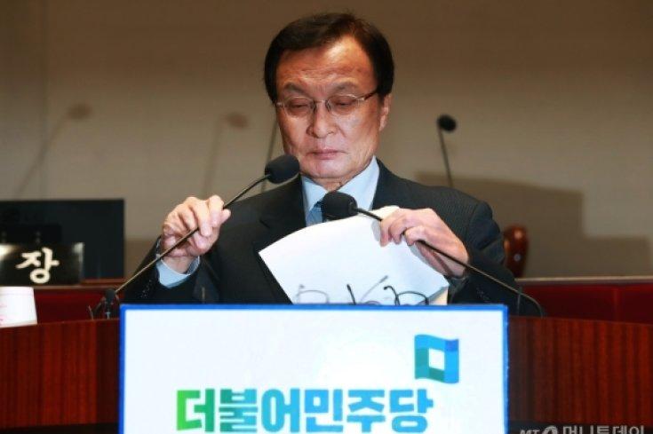 민주당 의총, '5.18 왜곡 처벌법' 당론 채택