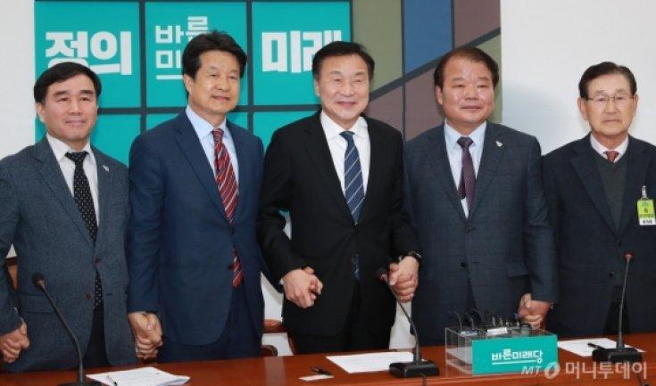 손학규 대표, 개성공단기업비대위 임원진 면담
