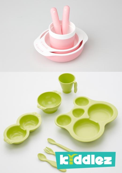 키들즈(KIDDLEZ) 유아식기 제품/사진제공=(주)에코매스