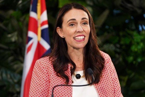 저신다 아던 뉴질랜드 총리. 아던 총리는 뉴질랜드의 세 번째 여성 총리이다. /AFPBBNews=뉴스1