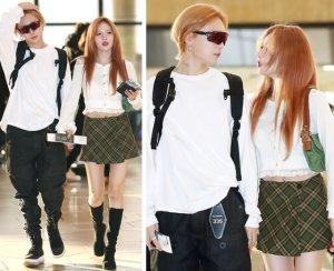 현아♥이던, 동반 도쿄 출국…마주보며 '활짝'