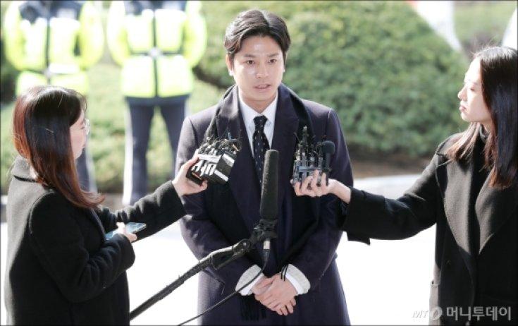 '버닝썬 사태' 최초 신고자 김상교 씨, 경찰 출석